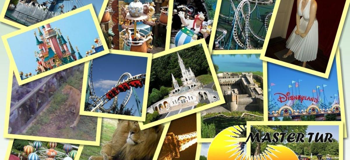 Paryż i Europejskie Parki Rozrywki