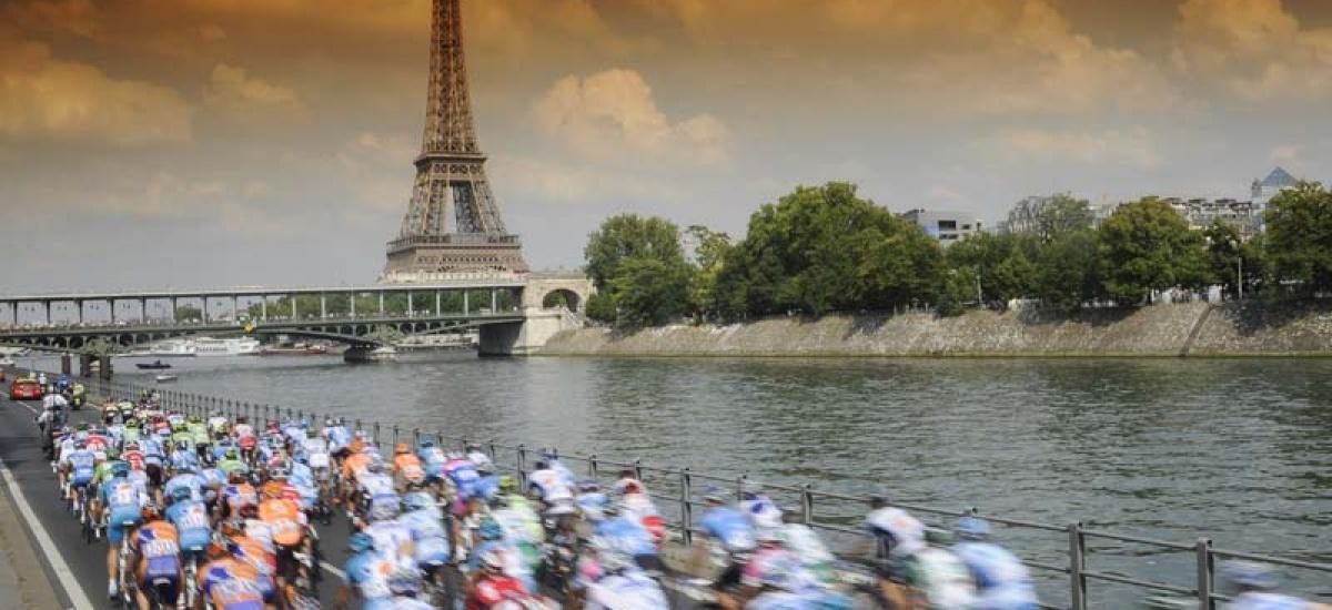 PARYŻ – TOUR DE FRANCE